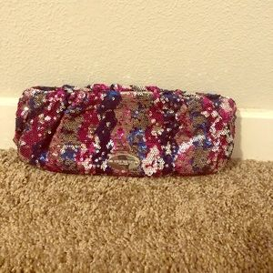 Nine West Sequin Clutch